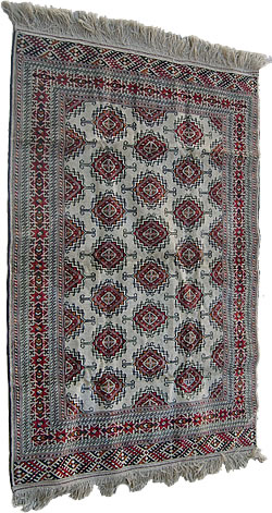 Carpet. Bukhara. Wool. Silk. Price $760